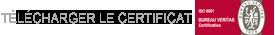 Certifiée ISO 9001:2015